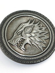 cheap -Badge Inspired by Game of Thrones Eren Jager Anime Cosplay Accessories Brooch Alloy