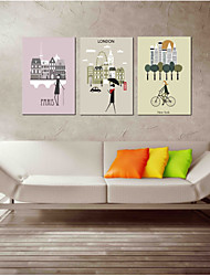 cheap -The Necessary Fine Shop Wall Art 3-Piece Modern Artwork Wall Art for Room Decoration 20x28inchx3