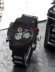 cheap -Men's Quartz Wrist Watch Fashion Watch Chinese Hot Sale Stainless Steel Band Charm Black