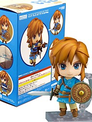 billiga -Anime Actionfigurer Inspirerad av The Legend of Zelda Länk pvc 10 CM Modell Leksaker Dockleksak