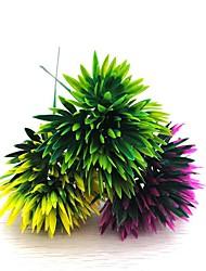 Недорогие -3шт искусственный сосновый орех длиной 20см цветок с диаметром 10 см 3 украшение цветной