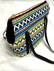 cheap -Cat Dog Sling Bag Pet Carrier Portable Rainbow Rainbow