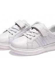 abordables -Fille Chaussures Gomme Automne Hiver Confort Basket Lacet Pour Blanc Fuchsia Blanc et vert Bleu royal