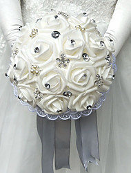 "Wedding Flowers Bouquets Wedding Polyester Foam 9.84""(Approx.25cm)"