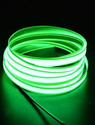 Недорогие -brelong 2m el led неоновая холодная лента - автомобильное зарядное устройство