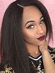 cheap -Lace Front Wigs Yaki Straight Unprocessed Brazilian Human Hair Wigs  Glueless Lace Front Wigs 8-30Inch  Virgin Hair Wigs With Baby Hair