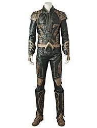 economico -Costumi da supereroi Cosplay Costumi Cosplay Costume Cosplay da film Oro Top Pantaloni Guanti A stivale Altri accessori Halloween