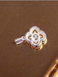 cheap -Women's Sticky Rhinestones Pendant Cubic Zirconia Cross Flower Zircon Silver Elegant Sweet Jewelry For Party Evening Dailywear