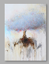 手描きの 抽象画 縦式,近代の 1枚 キャンバス ハング塗装油絵 For ホームデコレーション