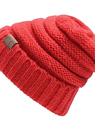 cheap -Unisex Roman Knit Beanie/SlouchyCasual Floral Winter Pleated Stylish