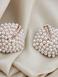 cheap -Women's Stud Earrings Imitation Pearl Imitation Pearl Jewelry For Gift Festival