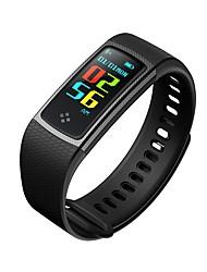 abordables -Pulsera inteligente para Android 4.3 / iOS Podómetros / Pantalla Táctil / Control APP Pulse Tracker / Podómetro / Seguimiento de Actividad / Seguimiento del Sueño / Recordatorio sedentaria