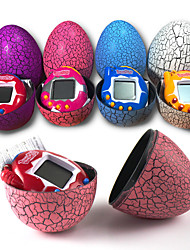 cheap -Tamagotchi Electronic Pets Toy Oval Shape Classic Theme Simple Games New Design Soft Plastic Girls' Boys' Gift 1pcs
