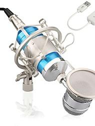 abordables -KEBTYVOR BM8000 Câblé Microphone ensembles Microphone à Condensateur Professionnel Pour Polycarbonate