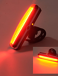 cheap -Rear Bike Light LED - Cycling USB Impact Resistant Waterproof Anti Slip LED Light Other 100 Lumens USB