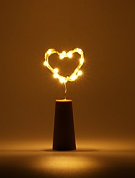 Недорогие -BRELONG® 0.5м Гирлянды 5 светодиоды ДИП светодиоды Красный / Желтый / Розовый Водонепроницаемый 1шт