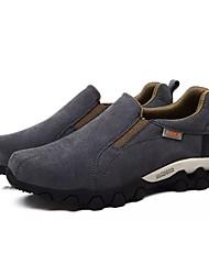 abordables -Homme Chaussures Daim Printemps Automne Confort Mocassins et Chaussons+D6148 pour De plein air Gris Marron Gris clair