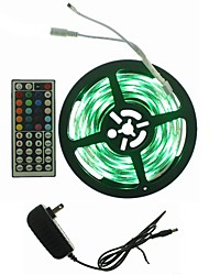 abordables -SENCART 5 m Sets de Luces 300 LED RGB Control remoto / Cortable / Regulable 100-240V 1 juego / IP65 / Conectable / Auto-Adhesivas