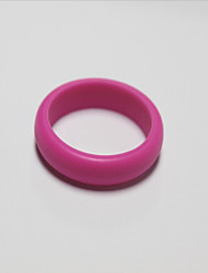 cheap -Non-personalized silicone Rings Bride Groom Friends Wedding Congratulations-3*1