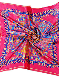 cheap -Women's Silk Square Print All Seasons