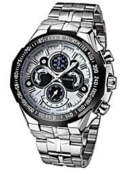 Недорогие -Муж. Наручные часы Нарядные часы Модные часы Повседневные часы Кварцевый Горячая распродажа Нержавеющая сталь Группа На каждый день Cool