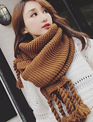 cheap -Women's Knitwear Rectangle Solid Winter