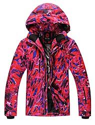 preiswerte -Herrn Skijacke Warm Wasserdicht Windundurchlässig Atmungsaktivität Leicht Skifahren Ski