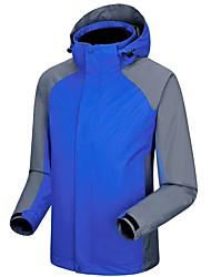 cheap -Men's Ski Jacket Warm Waterproof Windproof Wearable Cross-country Snow Sports Mountaineering Chinlon