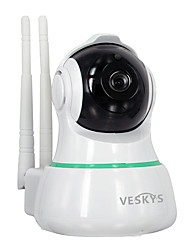 cheap -VESKYS 2.0 MP Indoor with IR-cut 128(Built-in speaker Built-in Microphone Day Night Motion Detection Remote Access Plug and play IR-cut)