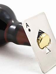1Pc Creative Poker Card Spade Shaped Credit Card Beer Wine Soda Bottle Cap Opener Bar Kitchen Tool