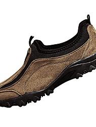 Homme Chaussures Cuir Nubuck Daim Printemps Automne Confort Mocassins et Chaussons+D6148 Pour Décontracté Noir Gris Marron Vert