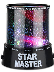 cheap -Starry Night Light Star Light LED Lighting Night Light Bedroom Bed Light Projector Lamp Toys Colorful Twilight Star Light Projector ABS