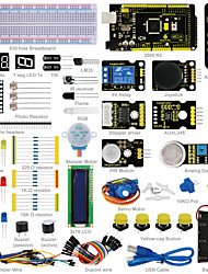 cheap -Keyestudio Advanced Starter Learning Kit for Arduino with MEGA 2560R3 1602 LCDPDF