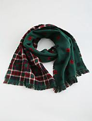 Unisex Scarves,Winter Cotton Acrylic