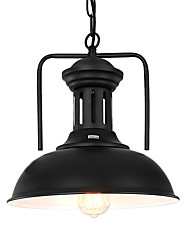 Northern Europe vintage Industry Black Metal pendant lights Dining Room Living Room Kitchen light Fixture 1 Head