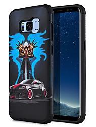 baratos -Capinha Para Samsung Galaxy S8 Plus S8 Estampada Capa Traseira Vista da cidade Rígida PC para S8 S8 Plus S7 edge S7
