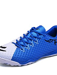 cheap -Men's Shoes PU Leatherette Winter Summer Light Soles Athletic Shoes Soccer Shoes For Athletic Blue Green Orange Black