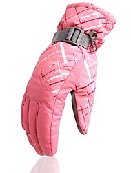 cheap -Winter Gloves Men's Women's Keep Warm Waterproof Printable Polyester Skiing Ski / Snowboard Climbing Winter