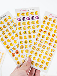cheap -12 PCS/Set iPhone Expression Cartoon Sticker Creative Office Supply