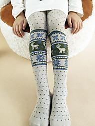 abordables -Pantalones Chica Vacaciones Algodón Invierno Otoño Bonito Activo Gris Oscuro Gris
