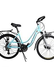Racercykler Cykling 24 Speed 26 tommer (ca. 66cm)/700CC Shimano skivebremse Affjedringsgaffel Normal Aluminiumslegering Stållegering