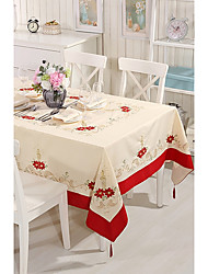 cheap -Cotton Blend Square Table cloths Patterned Eco-friendly Table Decorations