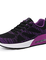 cheap -Women's Shoes Tulle Spring, Fall, Winter, Summer Comfort Athletic Shoes Round Toe For Sports & Outdoor Casual Fuchsia Purple Gray