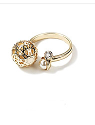 cheap -Women's Cuff Ring Fashion Korean Alloy Ball Jewelry For Other Daily