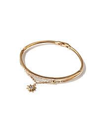 cheap -Women's Bangles Fashion Korean Alloy Star Jewelry For Other Daily