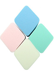 cheap -4 pcs Powder Puff Sponge Quadrate Women