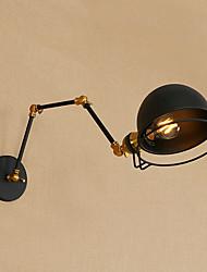baratos -Retro / Vintage / Tradicional / Clássico Swing Arm Lights Quarto / Quarto de Estudo / Escritório Metal Luz de parede 110-120V / 220-240V