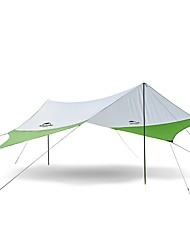 cheap -3-4 persons Camping Shelter Single Camping Tent One Room Automatic Tent Mountaineering for Camping / Hiking >3000mm Terylene - 520*460 CM