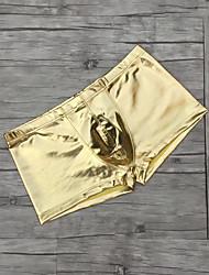 cheap -Men's Briefs Men Shorts Man Low Waist Comfy Briefs Stage Performance Underwear