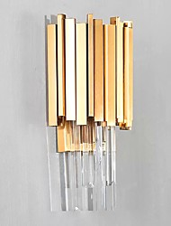 cheap -Wall Light Ambient Light Wall Sconces 3W 110-120V 220-240V E12/E14 Crystal Simple Modern/Contemporary Electroplate